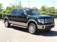 New Arrival! This 2013 Ford F-150 King Ranch, has a