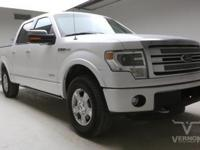 This 2013 Ford F-150 Platinum Crew Cab 4x4 with only