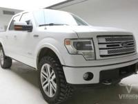 This 2013 Ford F-150 Limited Crew Cab 4x4 is offered by