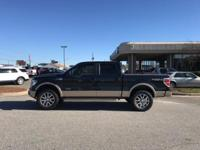 King Ranch trim. Heated Leather Seats, 4x4, Heated Rear