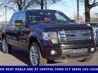 2013 Ford F-150, CLEAN CARFAX, ONE OWNER, SUNROOF /
