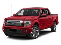 4WD, FORD CERTIFIED, 2013 Ford F-150Limited in Tuxedo
