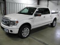 Options:  2013 Ford F150|F150 Platinum 4X4 Loaded 3.5