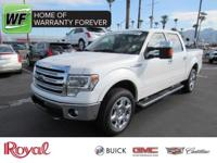 Get your hands on this clean one-owner White Ford
