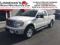 Wow!  What a sharp F150 Lariat.  This truck is loaded
