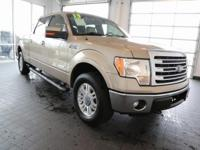 Options:  2013 Ford F-150 Lariat|Gold|**Carfax 1