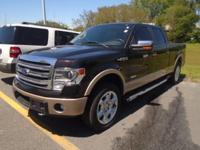 This outstanding example of a 2013 Ford F-150 Lariat is