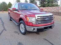 Meet our 2013 Ford F-150 Lariat SuperCrew 4WD displayed