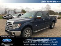 CARFAX One-Owner. Blue Jeans Metallic 2013 Ford F-150