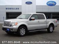 2013 Ford F-150 Lariat 4D SuperCrew 4WD, ABS brakes,