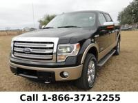 2013 Ford F-150 Lariat Features: Compass - Front Pwr