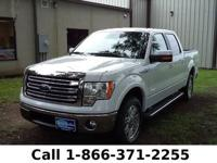2013 Ford F-150 Lariat Features: EcoBoost - Leather