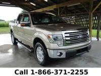 2013 Ford F-150 Lariat Features: Tan Leather Seats -