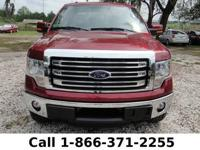 2013 Ford F-150 Lariat Features:Leather Seats - Touch