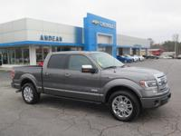 Options:  2013 Ford F-150 Limited|Silver|Lifetime