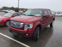 CARFAX One-Owner. Clean CARFAX. 2013 Ford F-150 Limited