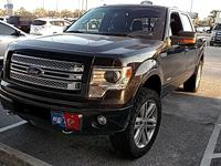 2013 Ford F-150 Limited  in Tuxedo Black and One Owner