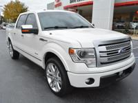 Options:  2013 Ford F-150 Platinum|4X2 Platinum 4Dr