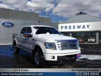 White Platinum Metallic Tri-Coat 2013 Ford F-150