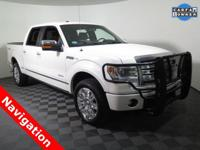 2013 Ford F-150 Platinum Super Crew 4X4 with a 3.5L V6
