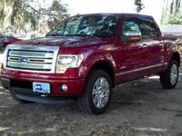 2013 Ford F-150 Platinum Features: Keyless Entry -