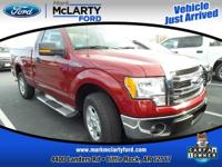 Recent Arrival! Clean CARFAX.  Red 2013 Ford F-150 RWD
