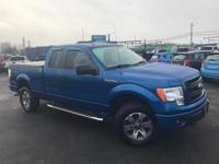 Clean CARFAX. Blue Flame Metallic 2013 Ford F-150 STX
