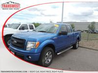 Options:  2013 Ford F-150 Stx|Blue|Grey Cloth|Brand New