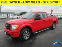 Exterior Color: race red, Body: Pickup, Engine: V8