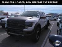 **WOW! FLAWLESS 2013 FORD F-150 SVT RAPTOR CREW!