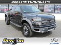 NON-SMOKER, NAVIGATION, LEATHER, SUNROOF, F-150 SVT