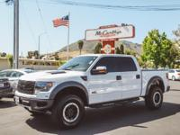 Options:  2013 Ford F-150 4Wd Svt Raptor