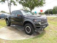 SVT Raptor trim. CARFAX 1-Owner, ONLY 47,638 Miles!