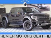 Options:  2013 Ford F-150 Svt Raptor|Black|6.2L