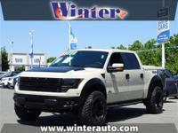 THE LEGENDARY SVT RAPTOR - 6.2 V8 - LUX PACKAGE -
