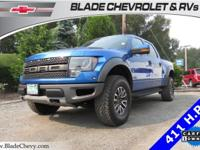 SVT Raptor, 4WD/4x4, Power Sunroof, Heated Leather