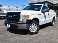 CARFAX One-Owner. Oxford White 2013 Ford F-150 XL RWD