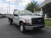 2013 Ford F-150 X L Flatbed, Extra Clean, One Owner,