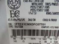 XL TRIM, 4x2, 6.5? BOX, SUPERCAB, 17? STEEL WHEELS,