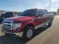 XLT trim, Ruby Red Metallic Tinted Clearcoat exterior