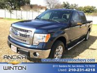 This used Ford F-150 XL is now for sale in San Antonio