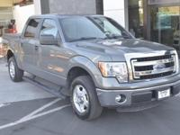 Clean CARFAX. Sterling Gray Metallic 2013 Ford F-150