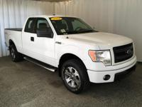 This 2013 Ford F-150 has only 22,739 miles on it. We