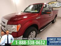 2013 Ford F-150 Red, Completely inspected and