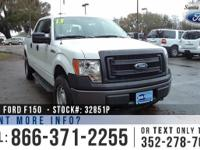2013 Ford F-150 XL. Features: Keyless Entry - Running