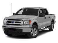Step into the 2013 Ford F-150! The safety you need and