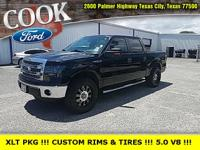 Tuxedo Black Metallic 2013 Ford F-150 XLT RWD 6-Speed