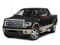 This 2013 Ford F-150 2WD SuperCrew 145 XLT is proudly