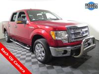 2013 Ford F-150 XLT Super Crew with a 5.0L V8. This