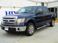 This outstanding example of a 2013 Ford F-150 XLT is
